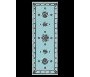 """Vida Scarf """"Believe In Deep Turquoise"""" designed by Cher"""