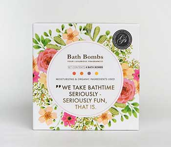 Grace & Stella Bath Bombs (4-Piece Set)