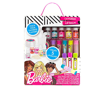 barbie layered lip balm