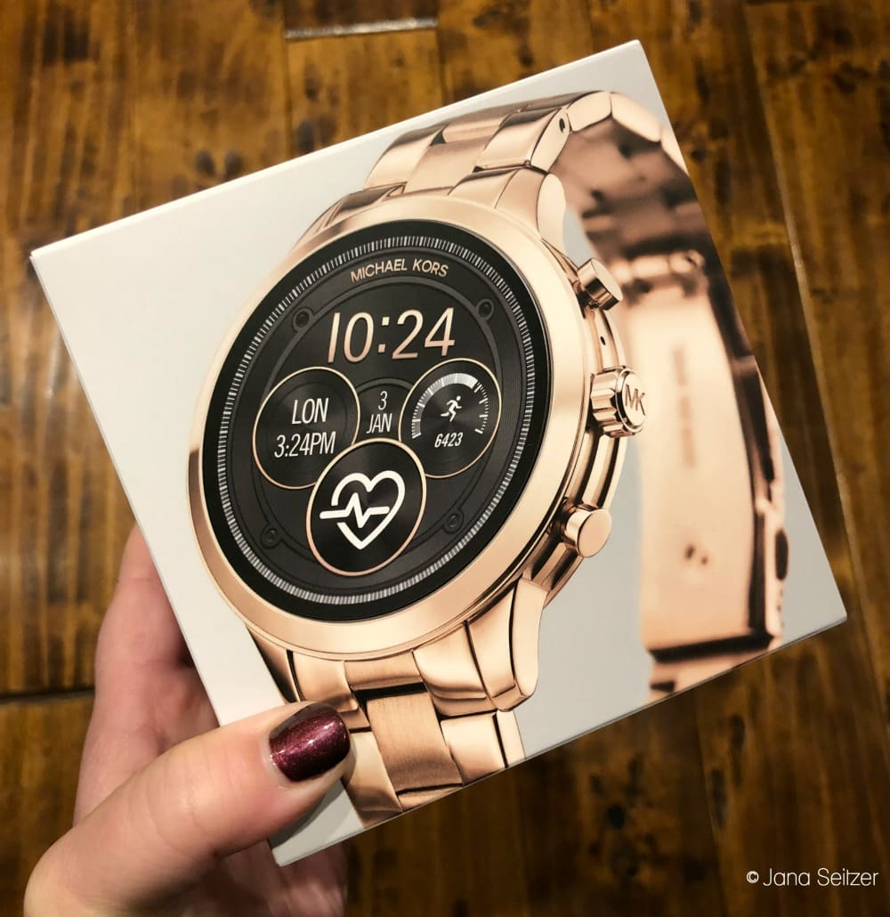 Wear OS by Google + Michael Kors Access Runway Smartwatch
