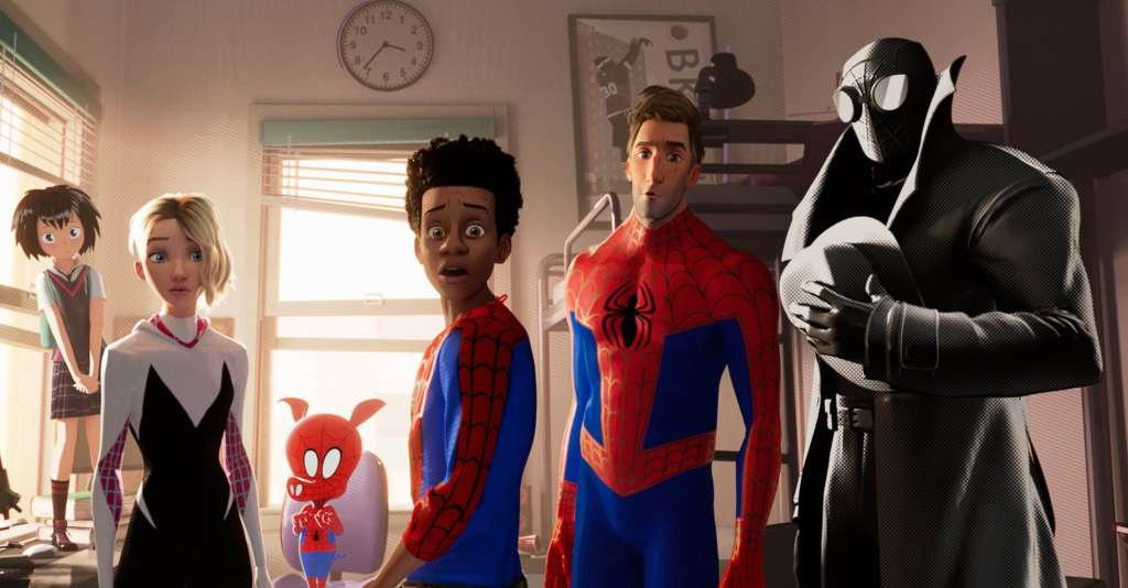 """The many faces of """"Spider-Man: Into the Spider-Verse"""""""