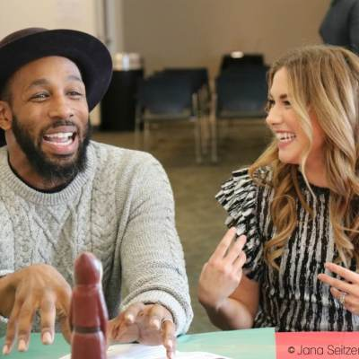 "Chatting with Stephen ""tWitch"" Boss and Allison Holker"