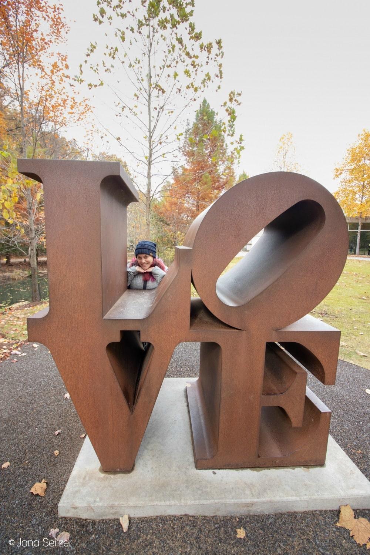 Art in Bentonville, Arkansas - Crystal Bridges Museum