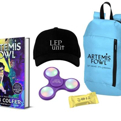 Get the newly redesigned Artemis Fowl book series