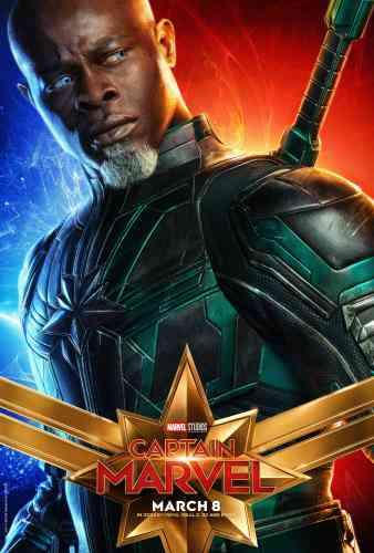 Captain MarvelCharacter Poster - Djimon Hounsou