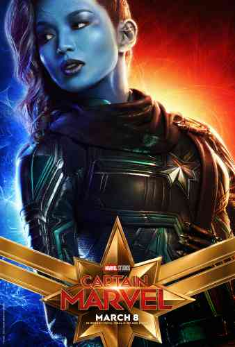 Captain Marvel Character Poster - Gemma Chan