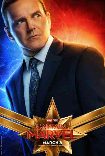 Captain Marvel Character Poster - Coulson