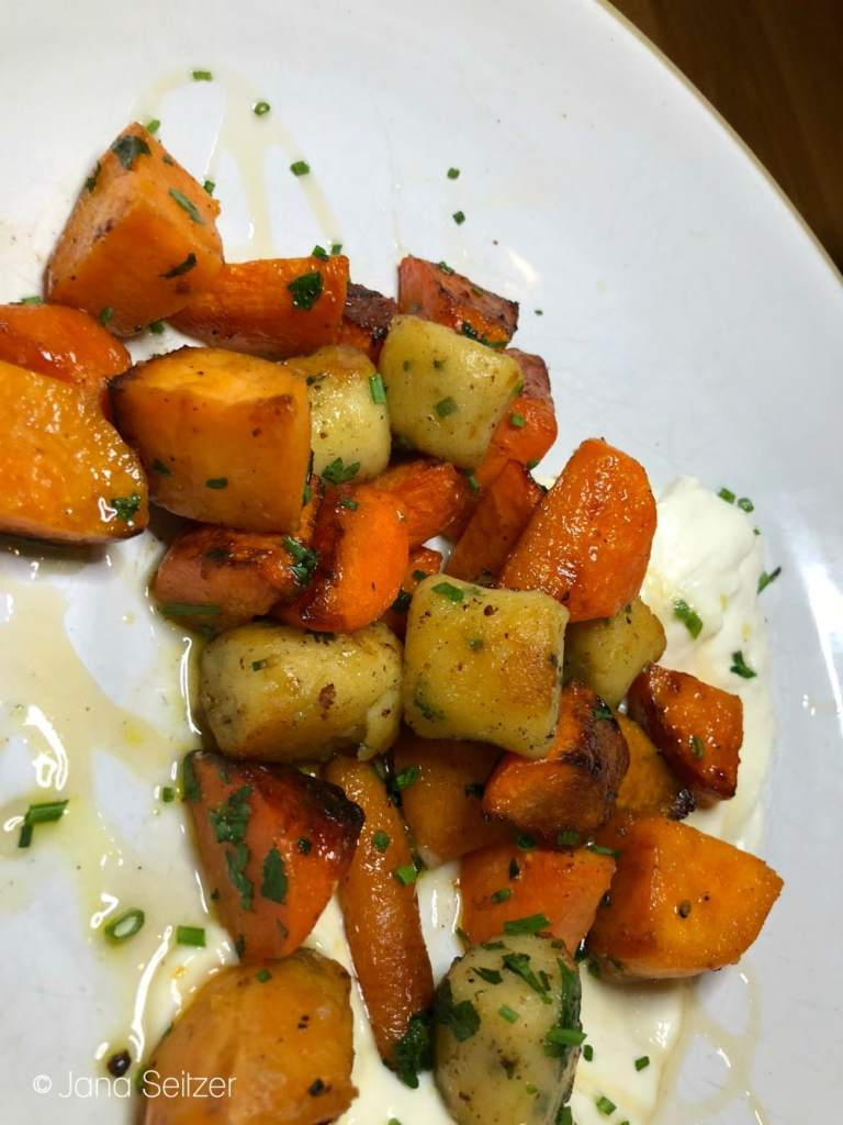 roasted root vegetable gnocchi