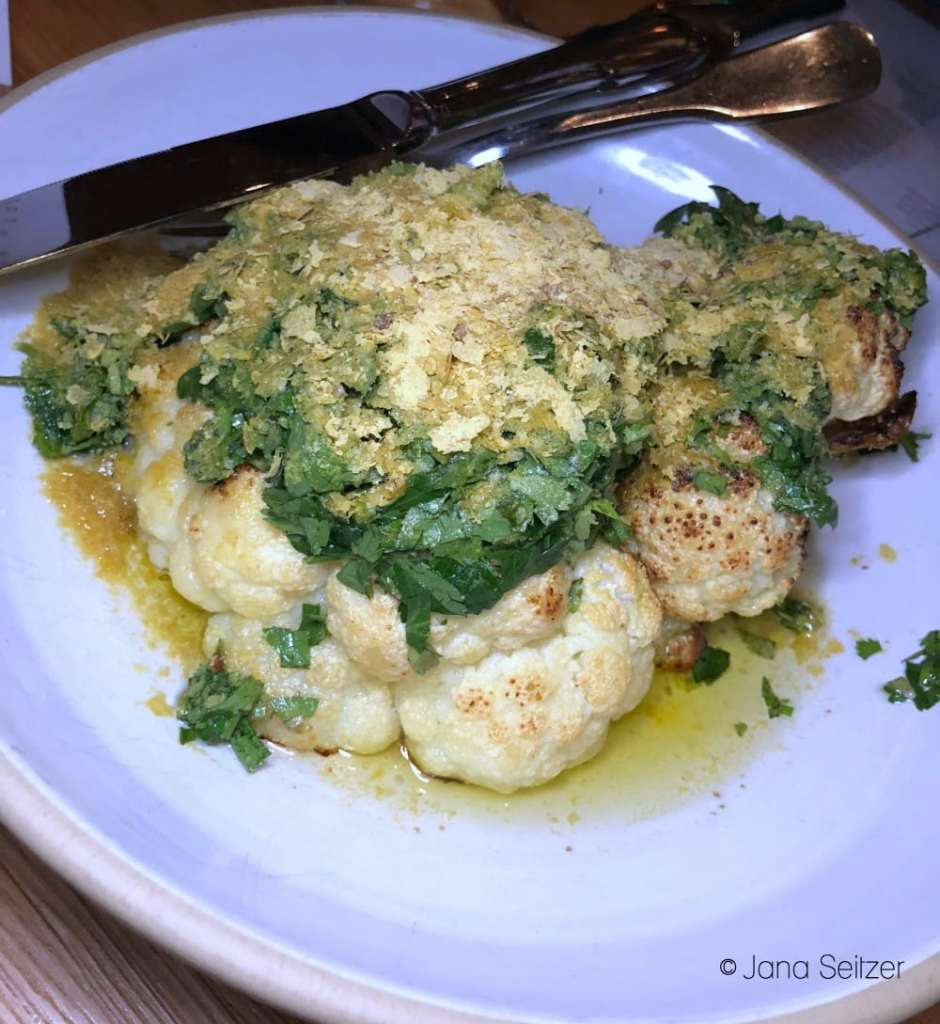 roasted cauliflower with chimichuri