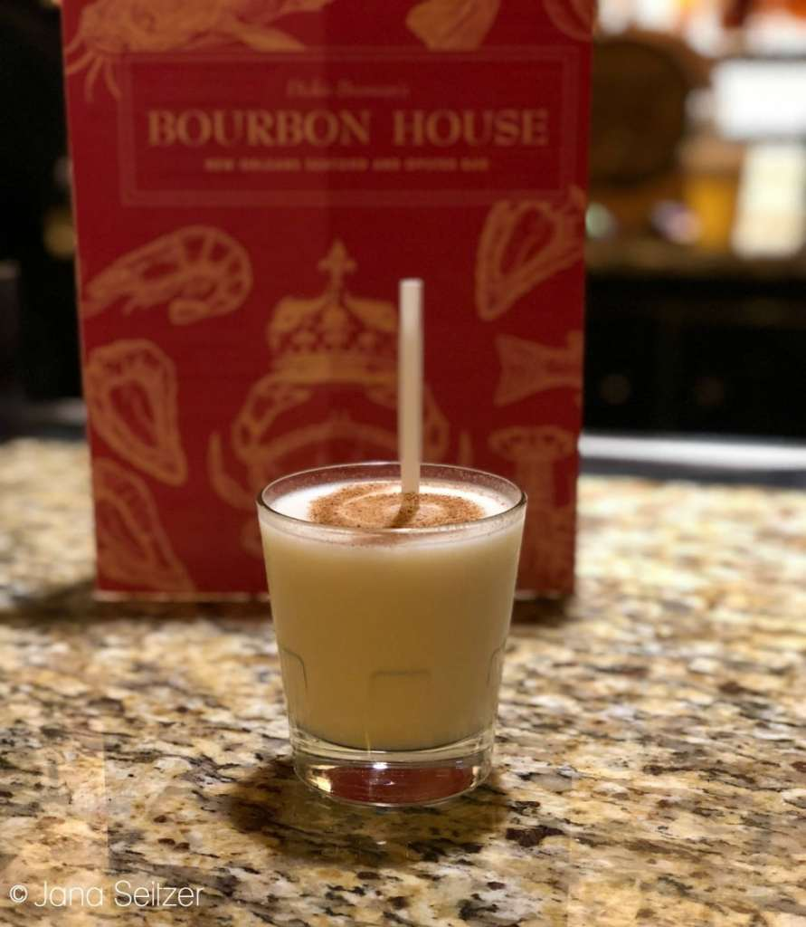 Frozen Bourbon Milk at Bourbon House in New Orleans