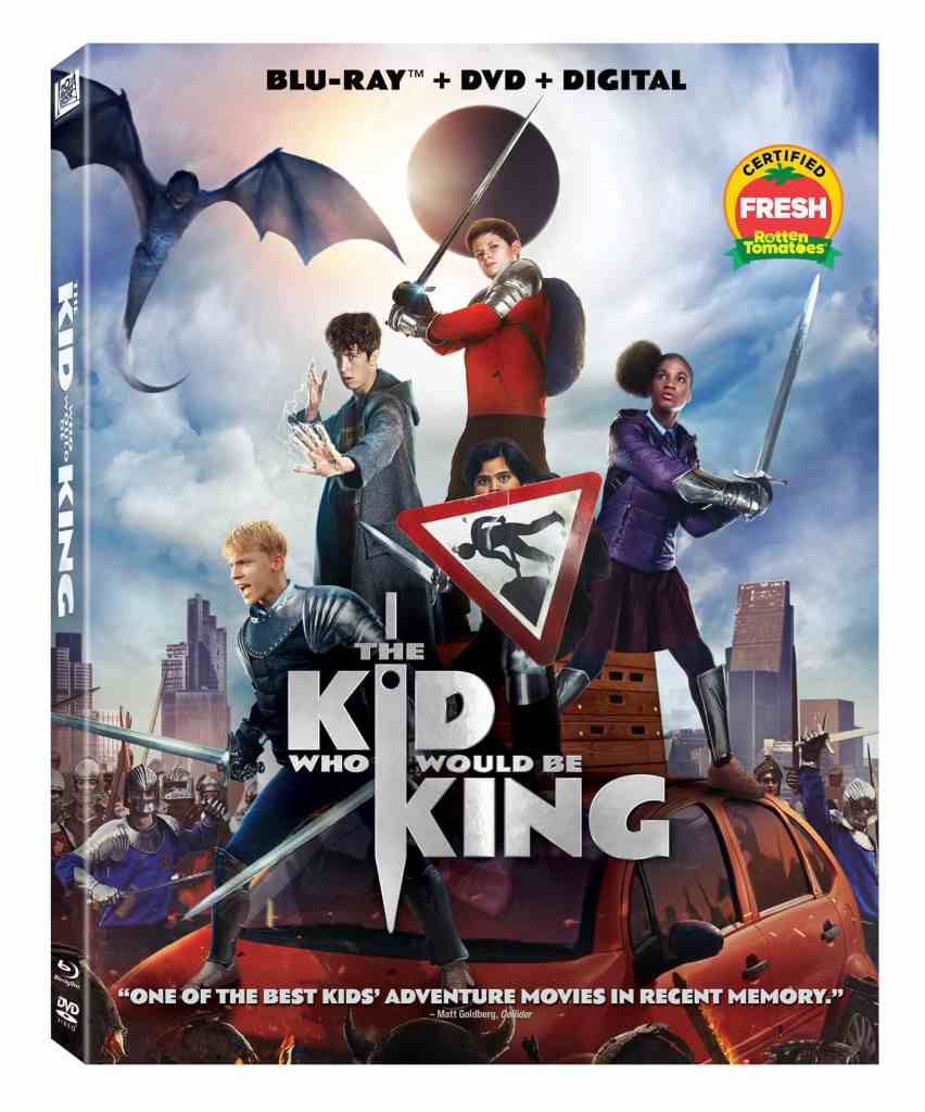 The Kid Who Would Be King 4K Ultra-HD, Blu-ray, and DVD