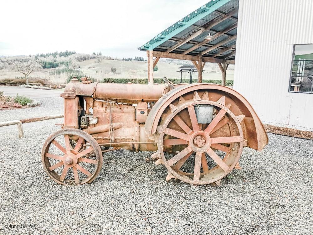 abbey farm road tractor