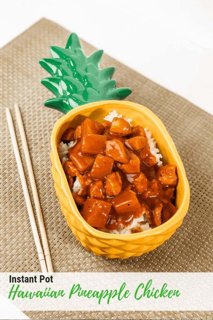 Instant Pot Hawaiian Pineapple Chicken
