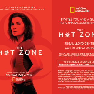 THE HOT ZONE - Evite Flyer - Portland - 5-20
