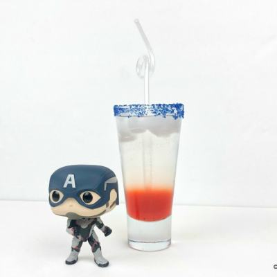 Captain America Mocktail