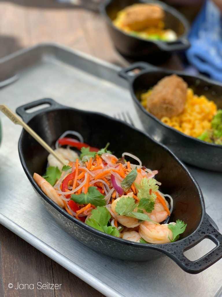 Yobshrimp Noodle Salad at Docking Bay 7