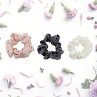 Celestial Silk Scrunchies for Hair