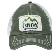 PonyFlo Hats Explore Mesh Back Cap