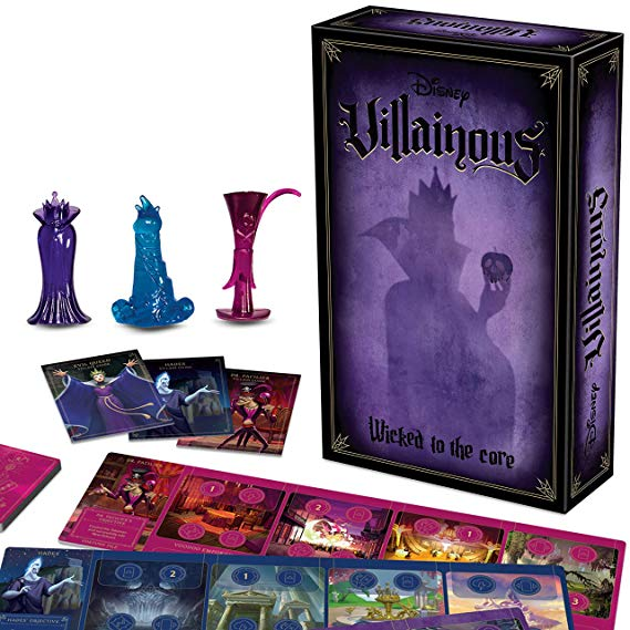 Ravensburger Disney Villainous: Wicked to The Core Strategy Board Game