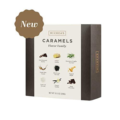 McCrea's Candies Flavor Family Caramels Box