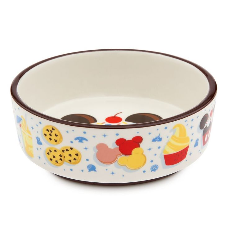 Disney Parks Food Icons Pet Food Bowl