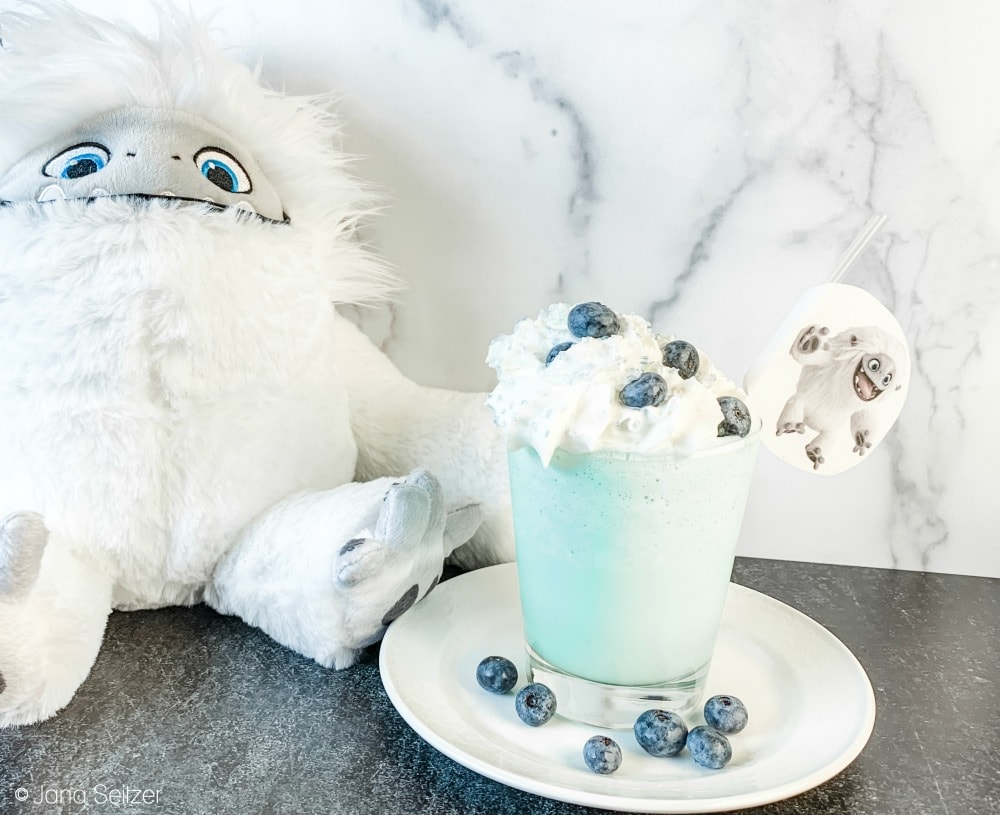 Abominable - Everest Vanilla Milkshake with Blueberries
