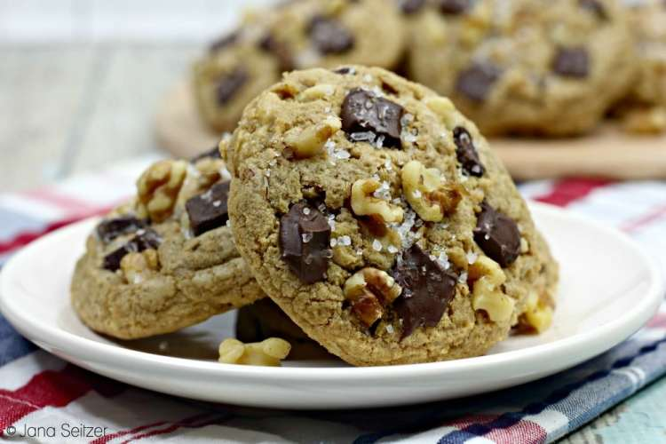 Bourbon Chocolate Chunk Cookies 1