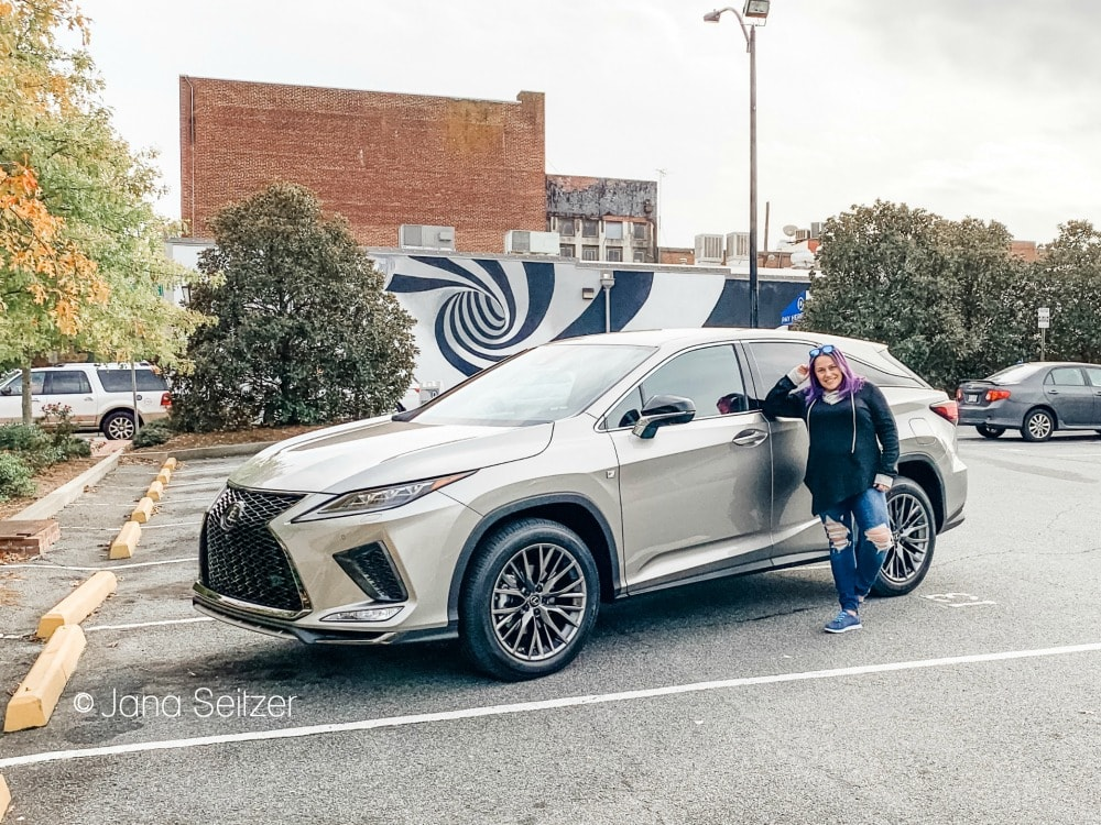 Lexus 2020 RX 450h AWD F Sport by murals in Atlanta