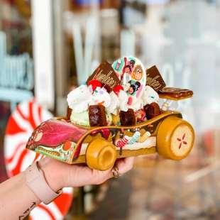Vanellopes Race Car - Disney Cruise Line