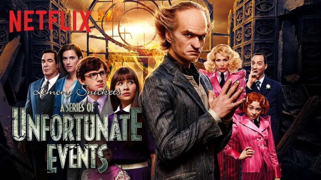 lemony snicket a series of unfortunate events