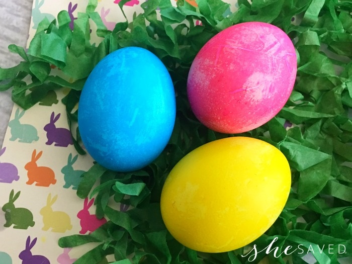 Dyeing Easter Eggs - Making Your Own Easter Egg Dye