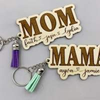 Personalized Mother's Day Keychain