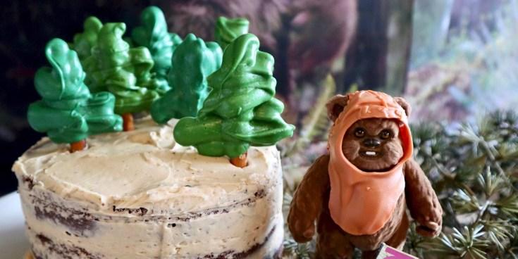 Star Wars Endor Cake