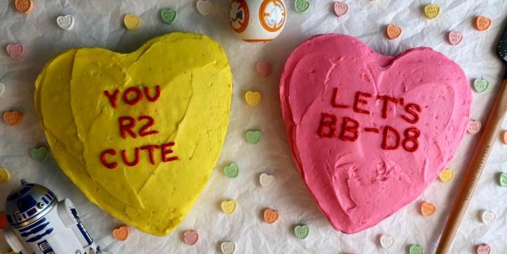 Star Wars Valentine's Day Cakes