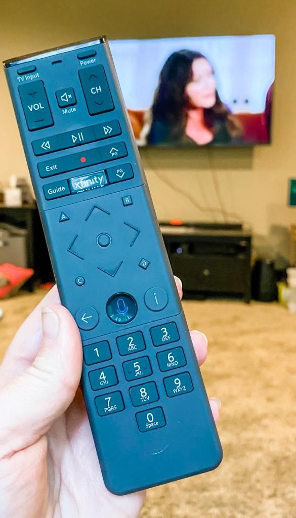 Xfinity Voice control remote