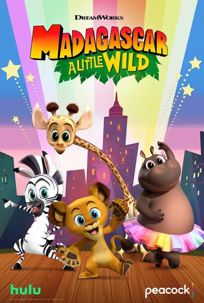 Dreamworks Animation Madagascar: A Little Wild poster