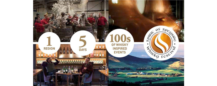 Spirit of Speyside Whisky Festival: 30 April to 4 May 2015