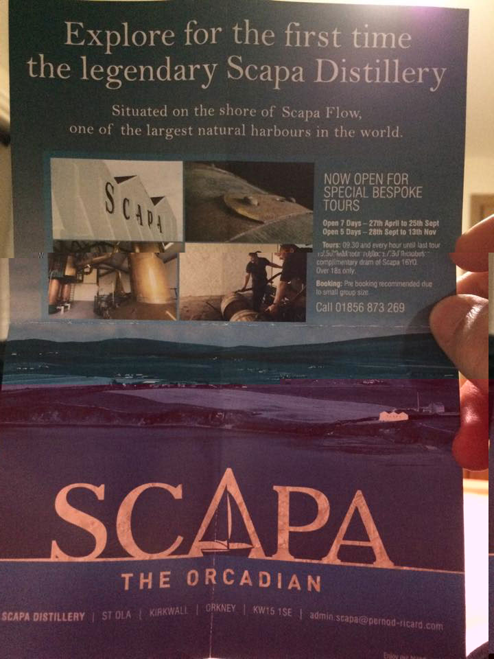 scapa visitor