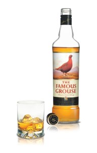 The Famous Grouse Fles met Glas