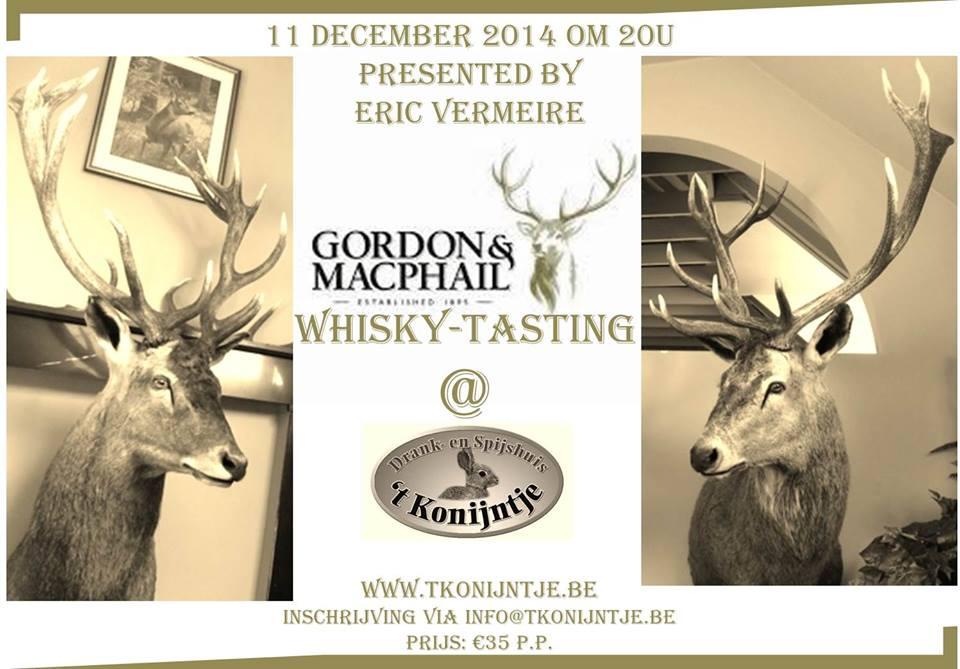 Gordon & Macphail Tasting 't Konijntje Kwaremont