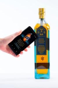 Johnnie Walker Smart Bottle en de bijhorende smartphone app.