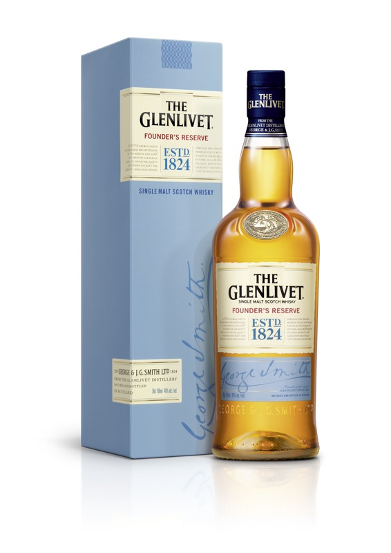 The Glenlivet Founder's Reserver - Fles + Verpakking