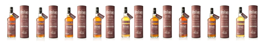 BenRiach Batch 12 Group Shot