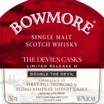 Bowmore Devil's Cask III Double the Devil