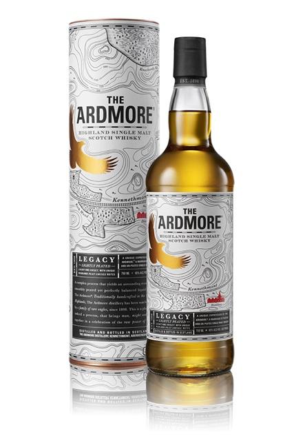 The Ardmore - Legacy - Fles en verpakking
