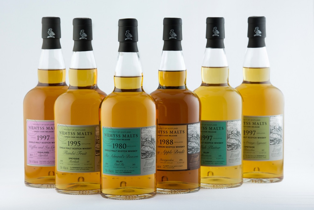 Wemyss Malts Single Cask Releases Lente 2016