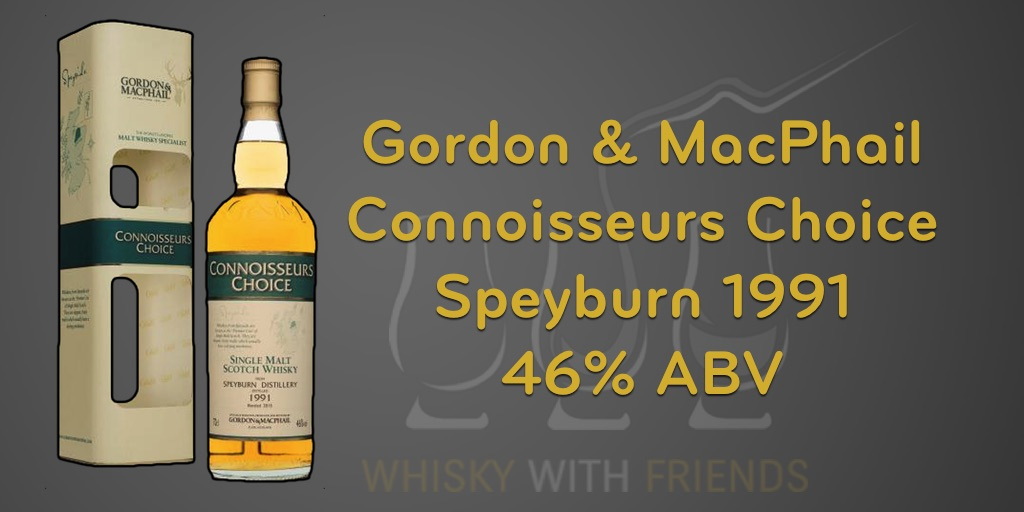 Gordon & MacPhail Speyburn 1991 - Proefnotities