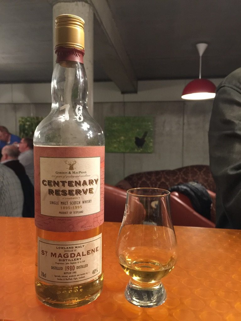 St Magdalene 1980 from the Centenary Reserve collection of Gordon & MacPhail!