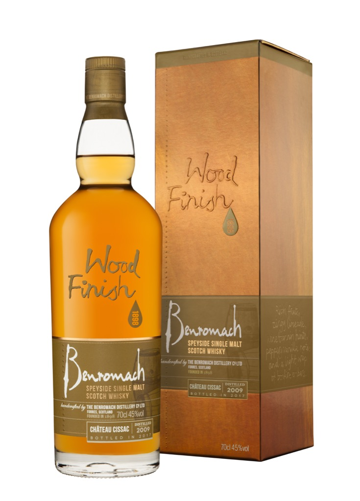 Benromach Chateau Cissac Wood Finish