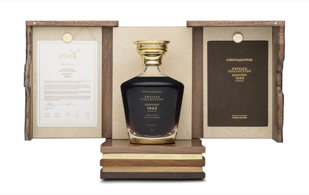 Glenlivet 1943 by Gordon & MacPhail Decanter